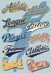 Athletic department script