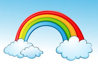 Rainbow on Cloud