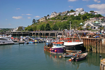 Fishing boats, Torquay harbour