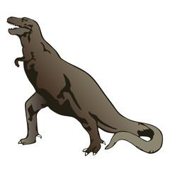 tyranosaurus rex vector illustration