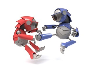 Fighting robots
