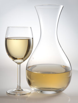 glass and carafe