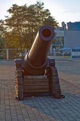 old gun cannon
