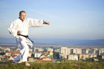 Karate outdoor