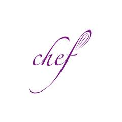 logo entreprise, chef cuisinier