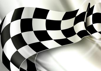 Background Horizontal Checkered