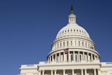 Fototapete - United States Capitol Building, Washington, DC