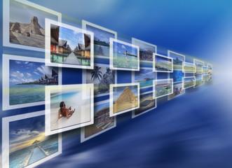 Virtual screen choice