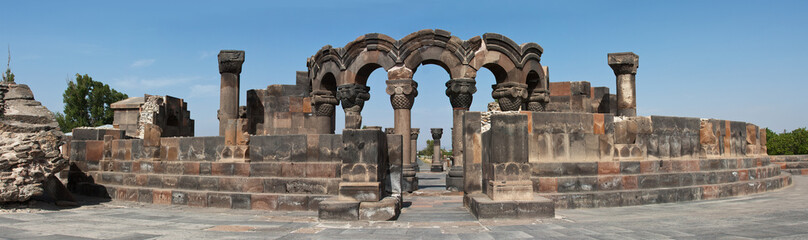 Zvartnots Ruins in Armenia