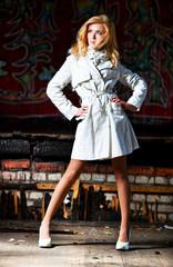 Young woman urban fashion