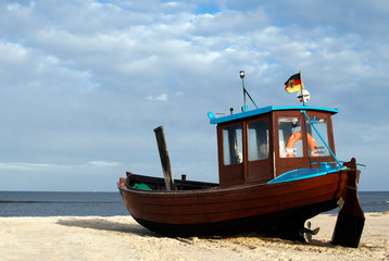 Wall Mural - Fischerboot