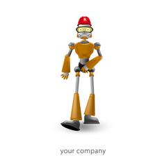logo entreprise, robot