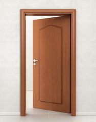 Door wood