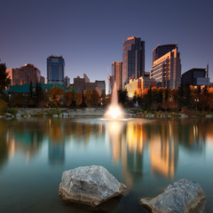View from the Princess Island in Calgary