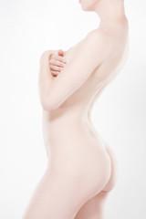 Corps nue femme beauté