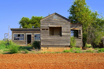 old ranchhouse, Altus OK