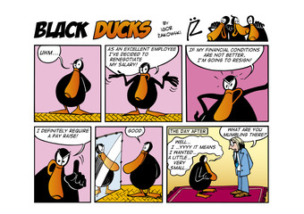 Garden Poster Comics Black Ducks Comic Strip episode 56