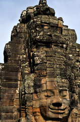 bayon temple at angkor wat,cambodia