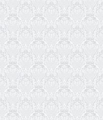White Seamless wallpaper pattern