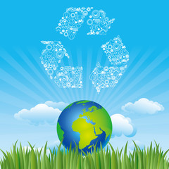 earth and environment icon