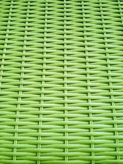 Geflecht grün - wicker green