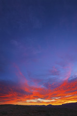 Colorado Plateau Desert Sunrise