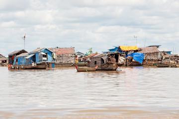Tonle Sap See in Kambodscha