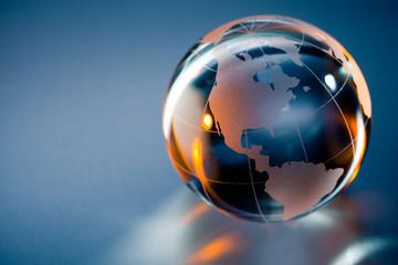 planète terre globe