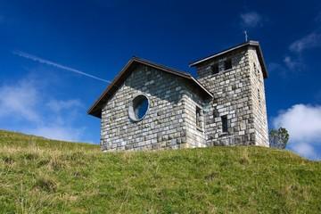 Bergkirche Schweizer Alpen