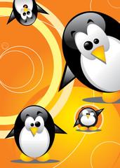 Cute Penguins Vertigo