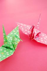 2羽の折鶴