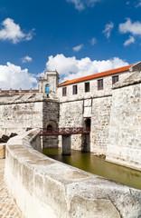 The fortress of La Fuerza in Havana, Cuba