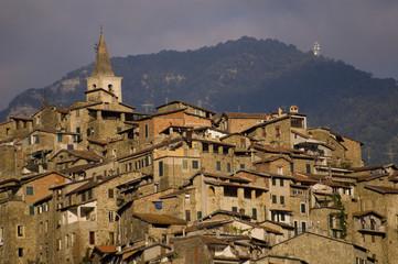 Village de l'Italie du Nord