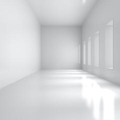 Empty Wide Interior