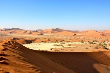 Dune/dunes in Namib Desert in Namibia (Soussusvlei)