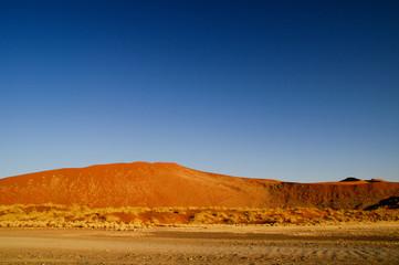 Dune in the namib desert of Namibia (Sossusvlei)