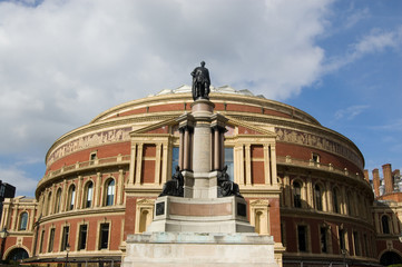 Royal Albert Hall and Prince Albert Statue, Kensington