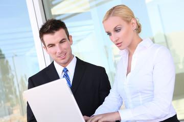 Business Team (Focus on Man)
