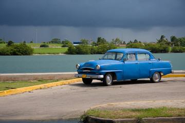 Türaufkleber Autos aus Kuba The cuban car