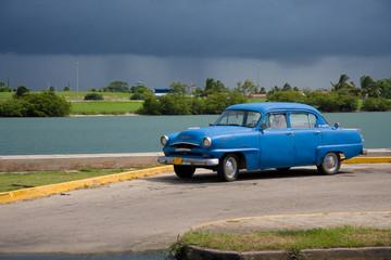 Garden Poster Cars from Cuba The cuban car