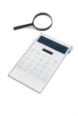 magnifier with calculator