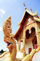 Serpent  front church
