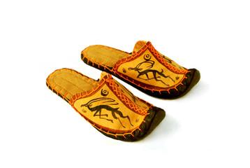 Mongolian slippers