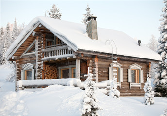 cosy winter house