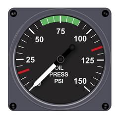 pression huile - aéronautique