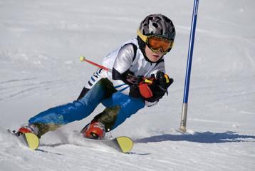 Skirennen Kinder