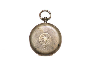 Old pocket watch cover