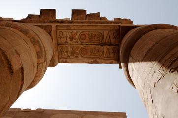 columns of Karnak Temple, Egypt, Luxor