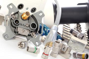 Equipment for TV satellite installations