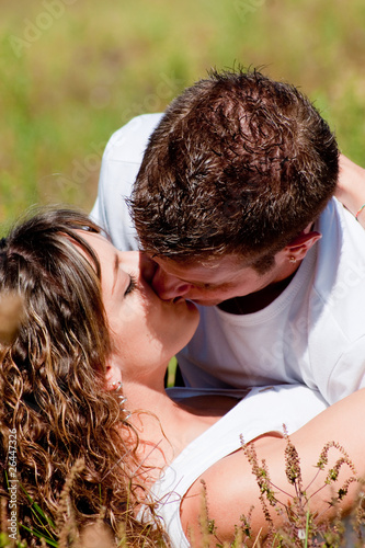 "Couple Qui S Embrasse couple amoureux qui s'embrasse"" stock photo and royalty-free images"